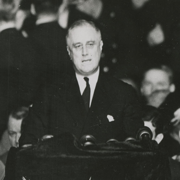 Franklin Delano Roosevelt at the 1936 Democratic Convention