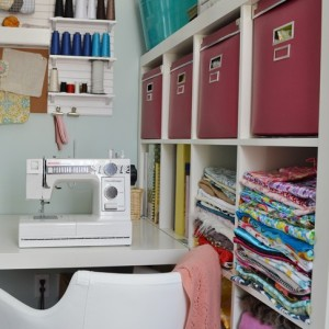 DIY Mommy Colourful Boho Craft Room