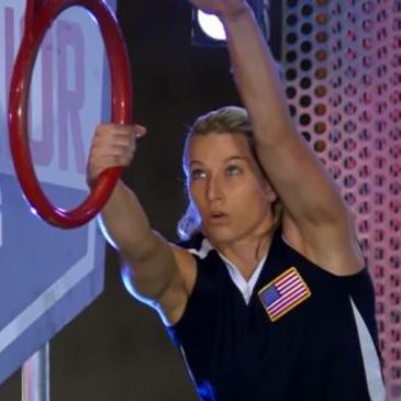 Jessie Graff on American Ninja Warrior