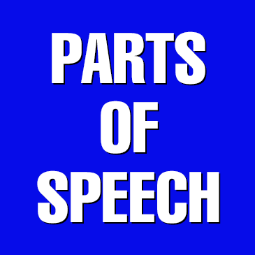 Jeopardy Parts of Speech